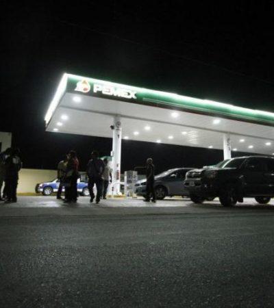 Atracan empistolados gasolinera en Chetumal