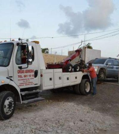 Catean tercera bodega de robacoches en Bonfil; encuentran autos, cargadores y chalecos antibalas