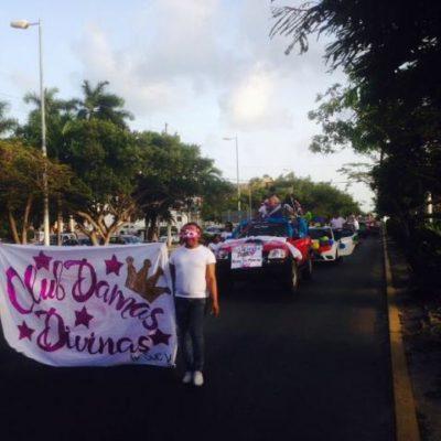 Realizan desfile gay en Cancún
