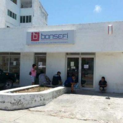 ESCALA DELINCUENCIA EN CANCÚN: Abren boquete en banco Bansefi y se llevan botín no revelado