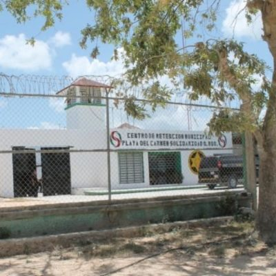 Investigan red de tráfico por detención de una mujer que usó a su hijo para tratar de meter droga a la cárcel de Playa del Carmen