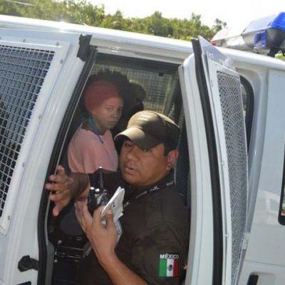 SIGUEN OPERATIVOS CONTRA ILEGALES: Aseguran a una veintena de extranjeros sin documentos en zona turística de Tulum