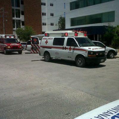 Le amputan una pierna a ciclista tras ser arrollado por una grúa en Cancún