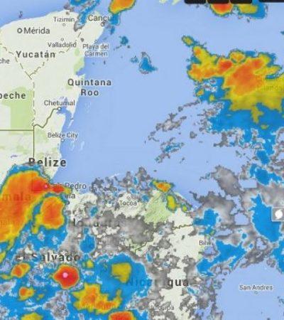 MEGA TORMENTA, EN PUERTA: Advierten fuertes lluvias por onda tropical que se aproxima a la Península de Yucatán