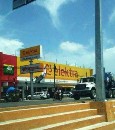 A PLENA LUZ DEL DÍA: Con cuchillo y pistola, asaltan a supervisor de empresa y le roban $150 mil en Cancún