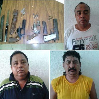 Desmantelan banda de violentos asaltantes que operaban en Cancún y Chetumal