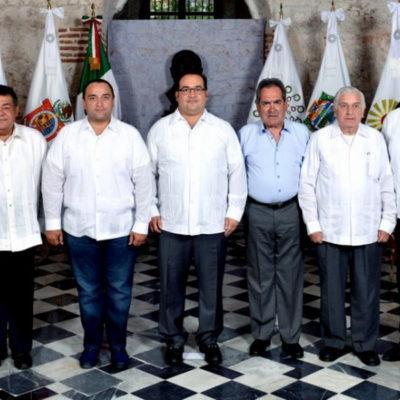 Se reúnen en Veracruz Gobernadores de la Conago y plantean impulsar Corredor Transístmico