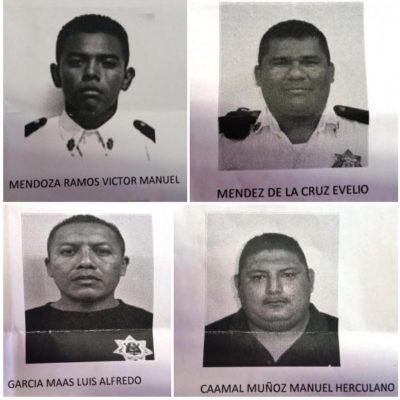 LOS LADRONES SON LOS POLICÍAS: Detienen a 4 agentes por robo a un trabajador en Cancún