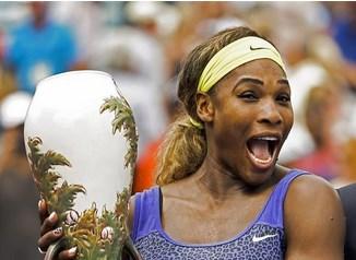 Se corona por primera vez Serena Williams en Cincinnati