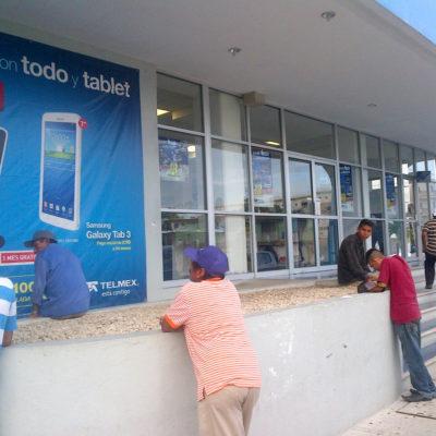 """""""SI NO HAY ARREGLO, VAMOS POR MÁS"""": Amenazan ejidatarios con embargar oficinas de Telmex en el DF por adeudo en QR"""