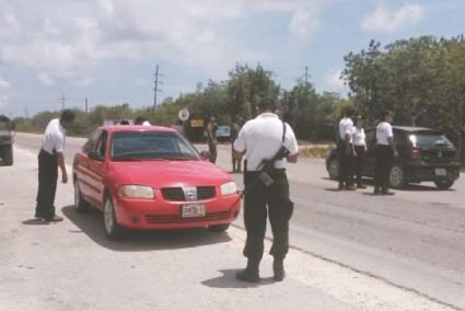 Videos, principal pista para dar con los ladrones de cajeros en Mahahual