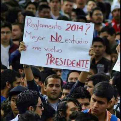 SE LEVANTA EL POLI: Tras protesta masiva, aplaza IPN la aplicación del nuevo plan de estudios