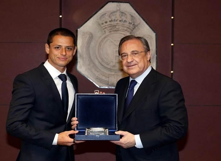 ATERRIZA 'CHICHARITO' EN ESPAÑA: Confirma Real Madrid la llegada del delantero mexicano al club merengue