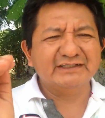LEVANTA ÁMPULA PEDRO CANCHÉ: Medios capitalinos difunden y ONG's condenan detención de periodista y activista maya, crítico de Borge en FCP