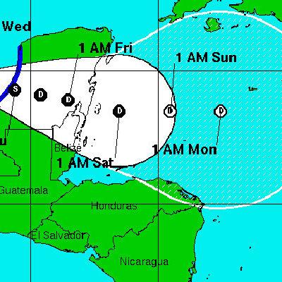 LLUVIAS AFECTAN A 5 ESTADOS: Vigilan depresión tropical que pronto sería tormenta y dejará mucha agua en la Península de Yucatán; aunque oficialmente en QR no hay suspensión de clases, Cozumel se adelanta y cierra escuelas