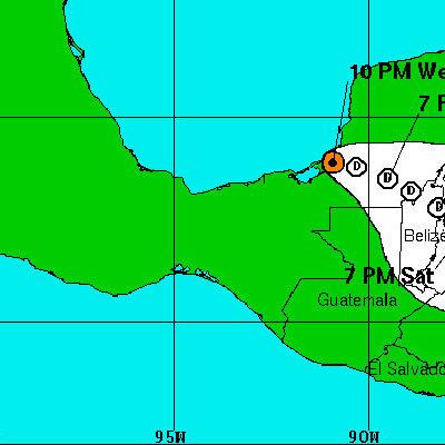 PIERDE FUERZA EL TEMPORAL: Depresión tropical se convierte en remanente de baja presión y sólo dejará lluvia sobre la Península de Yucatán