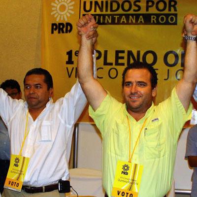 SE LLEVA BORGE EL PRD: Ganan Emiliano Ramos y Gerardo Mora dirigencia del Sol Azteca con aval y apoyo del Gobernador priista