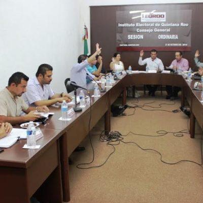 Aprueba Ieqroo sanciones mínimas para partidos en QR por actividades ordinarias del 2013