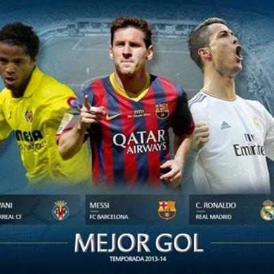 Nominan a Giovani dos Santos, junto con Messi y Cristiano Ronaldo, al Mejor Gol de la Liga española