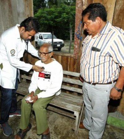 FIESTA POPULAR PARA EL HOMBRE MÁS LONGEVO DE MÉXICO: Don Jesús Castillo Rangel cumple hoy 118 años de edad en Nicolás Bravo