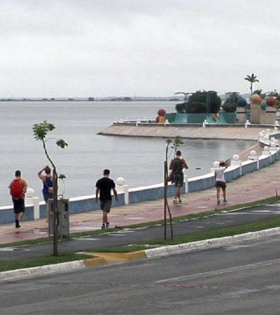 ALERTA POR DEPRESIÓN TROPICAL: Intensas lluvias en todo el Sureste por temporal; suspenden clases en Campeche