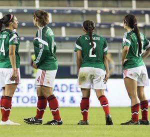 Avanza el Tri femenil a semifinales en torneo eliminatorio rumbo al Mundial de Canadá 2015
