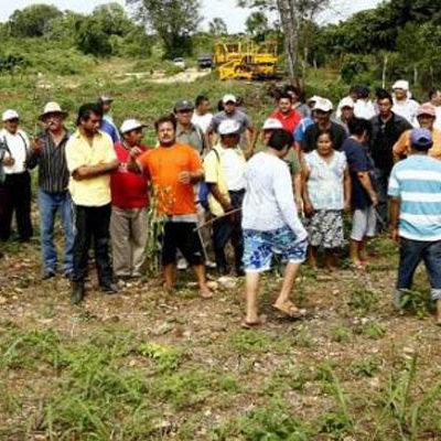 INVASIÓN EN CHETUMAL: Expulsadas de Campeche, 40 familias ocupan predio en litigio en la periferia de la capital de Quintana Roo