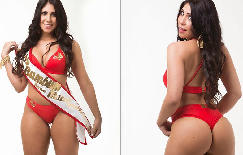 MISS BUMBUM 2014: Finalistas a la mejor cola de Brasil, hacen 'topless'