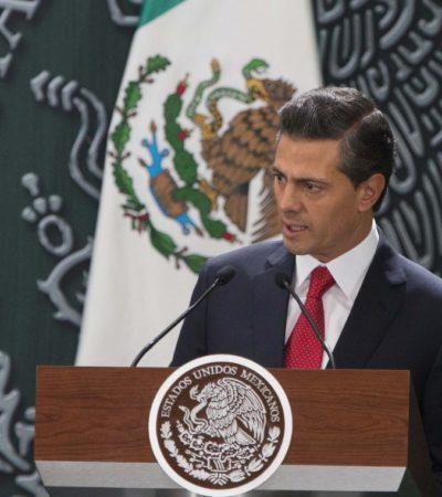 Tras allanar PAN, PRD y PRI el camino, anuncia Peña Nieto otro 'pacto', ahora contra la violencia reciente