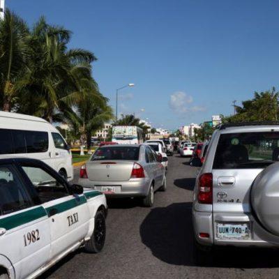 Caos vial y malestar ciudadano por la mala planeación de obras de repavimentación en Cancún