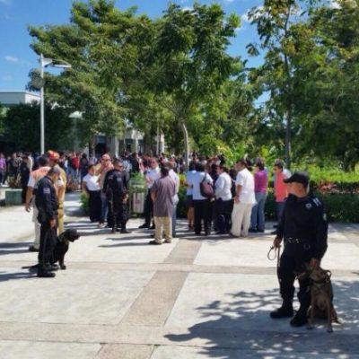 Fuerte movilización por amenaza de bomba en la UT de Cancún