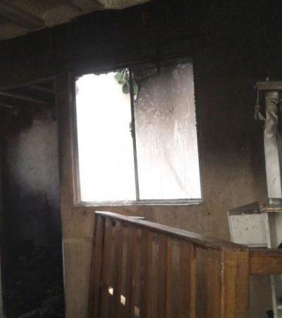JOVEN HÉROE EN VILLAS OTOCH: Muchacho de 19 años salva a dos niños de un incendio en una vivienda
