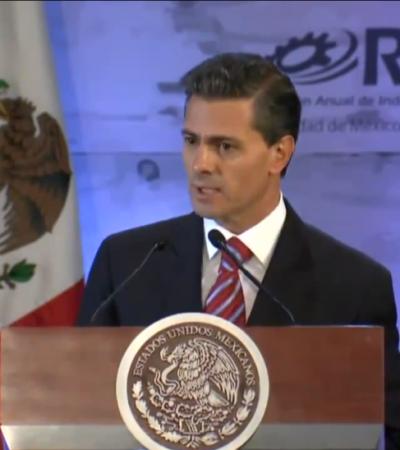 """""""TODOS LOS CULPABLES SERÁN CASTIGADOS"""": Se dice Peña Nieto consternado e indignado por muerte de normalistas de Ayotzinapa"""