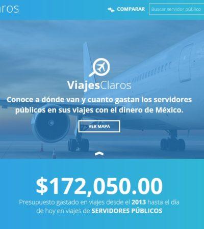 Empresa de desarrollo cancunense gana concurso del IFAI para crear aplicación para transparentar viajes de funcionarios públicos
