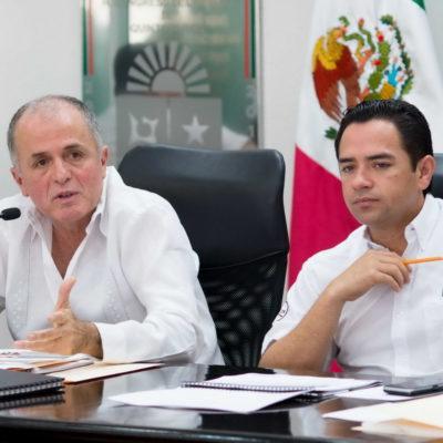 COMPARECE JEFE POLICIACO: Informa Juan Pedro Mercader puras cosas positivas a diputados