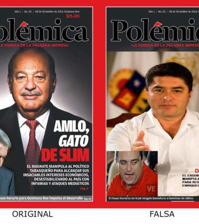 MACHETAZO A CABALLO DE ESPADAS 2: Aplican la 'ley del Photoshop' y clonan en redes la oficialista revista 'Polémica' de los Millar