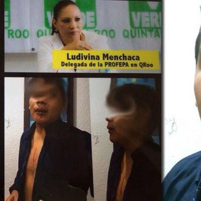 SALPICA OTRO ESCÁNDALO A LUDIVINA: Denuncian a prepotente hijo de delegada de Profepa por golpiza a joven en bar de Cancún
