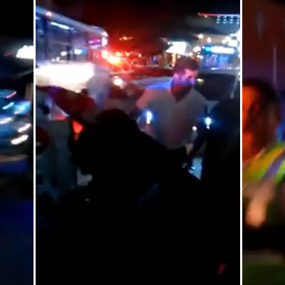 REPRIMEN MANIFESTACIÓN EN ZONA HOTELERA: Exhiben en video a policías turísticos por detención de jóvenes del colectivo #YoSoy132 Cancún
