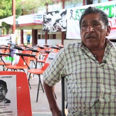 """""""ME DIJO EN CLARO QUE QUERÍA SER MAESTRO"""": Ezequiel Mora, padre de Alexander Mora Venancio, cuenta su historia"""