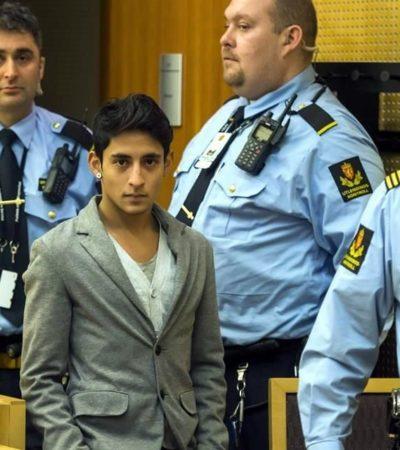"""""""NO ENTIENDO LO QUE ESTÁ PASANDO"""": Deportan al joven mexicano que protestó en la entrega del Premio Nobel"""