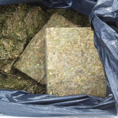 Capturan a narcomenudista con 3 kilos de marihuana en Puerto Morelos