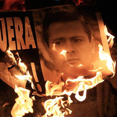 EL DERRUMBRE DEL 'MOMENTO MEXICANO': En 2014, la pesadilla de los desaparecidos enterró la fantasía del progreso peñista