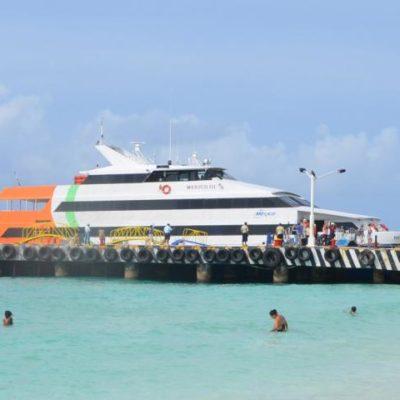 Confirman entrada de tercera naviera en la ruta Playa-Cozumel a partir del 2015