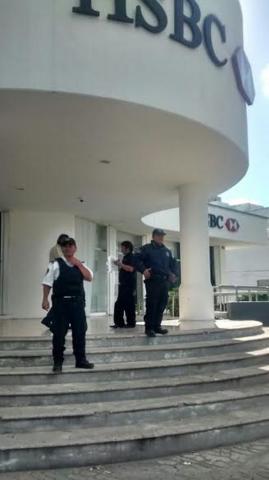 ROBADO EL BANCO…: Anuncian operativo especial para dar más seguridad a instituciones de crédito en Cancún