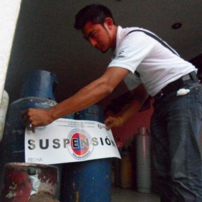 CLAUSURAN OTRA GASERA: Gas Tomza almacenaba tanques de forma irregular en domicilio de la colonia Colosio de Playa