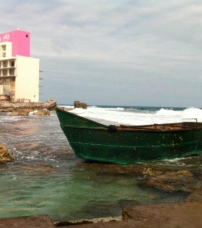 RECALAN CUBANOS EN CANCÚN E ISLA MUJERES: Detienen sólo a 4 balseros que arribaron en 2 grupos; la mayoría escapó