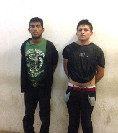 Capturan a ladrones armados tras peliculesca persecución en Playa del Carmen