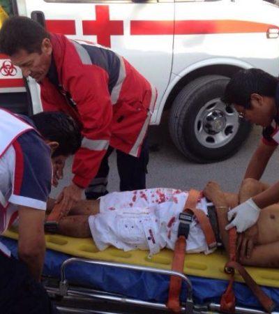 NAVIDAD SE TIÑE DE SANGRE: Riña termina con asesinato de un hombre a puñaladas en la SM 73 de Cancún