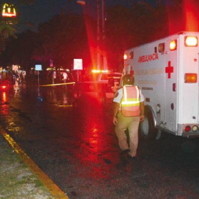 Por no usar puente peatonal, muere una joven atropellada en el boulevar Colosio de Cancún
