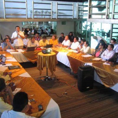 Retan a diputados que votaron por concesión del agua a Aguakán a confrontar a ciudadanos sobre este atraco; sale PRD en defensa de Domingo Flota